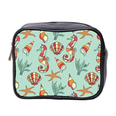 Coral Love Mini Toiletries Bag (two Sides)