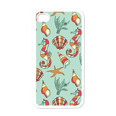 Coral Love Iphone 4 Case (white)