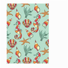 Coral Love Large Garden Flag (two Sides)