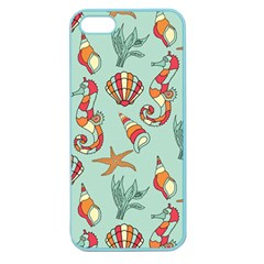 Coral Love Apple Seamless Iphone 5 Case (color)