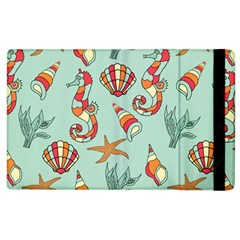 Coral Love Apple Ipad 3/4 Flip Case