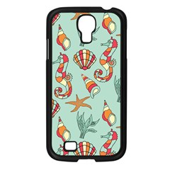 Coral Love Samsung Galaxy S4 I9500/ I9505 Case (black)