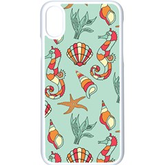 Coral Love Iphone Xs Seamless Case (white)