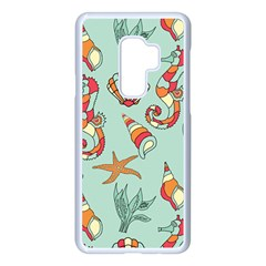 Coral Love Samsung Galaxy S9 Plus Seamless Case(white)