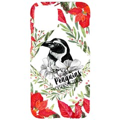 Penguins Xmas Iphone 11 Pro Black Uv Print Case by xmasyancow
