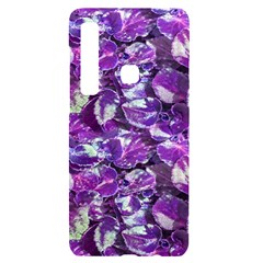 Botanical Violet Print Pattern 2 Samsung A9 Black Uv Print Case by dflcprintsclothing