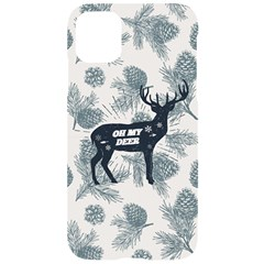 Oh My Deer Iphone 11 Black Uv Print Case by xmasyancow
