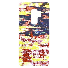 Multicolored Abstract Grunge Texture Print Samsung S9 Plus Black Uv Print Case by dflcprintsclothing