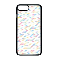 Texture Background Pastel Box Iphone 8 Plus Seamless Case (black)