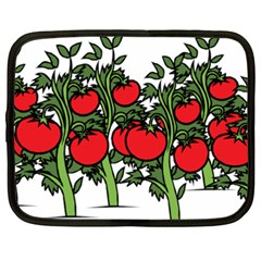 Tomato Garden Vine Plants Red Netbook Case (xxl)