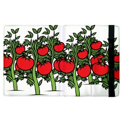 Tomato Garden Vine Plants Red Apple Ipad 2 Flip Case