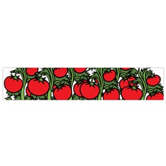 Tomato Garden Vine Plants Red Small Flano Scarf