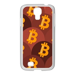 Cryptocurrency Bitcoin Digital Samsung Galaxy S4 I9500/ I9505 Case (white) by HermanTelo