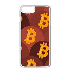 Cryptocurrency Bitcoin Digital Iphone 8 Plus Seamless Case (white)