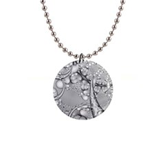 Illustrations Entwine Fractals 1  Button Necklace by HermanTelo