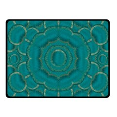 Over The Calm Sea Is The Most Beautiful Star Fleece Blanket (small) by pepitasart