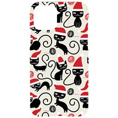 Cute Christmas Seamless Pattern Vector Iphone 11 Pro Black Uv Print Case