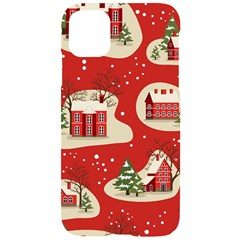 Christmas New Year Seamless Pattern Iphone 11 Black Uv Print Case