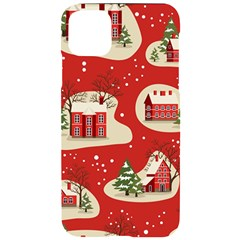 Christmas New Year Seamless Pattern Iphone 11 Pro Max Black Uv Print Case