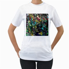 Forest 1 1 Women s T-shirt (white) (two Sided) by bestdesignintheworld