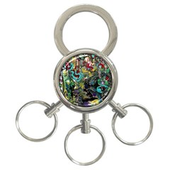 Forest 1 1 3 Ring Key Chain