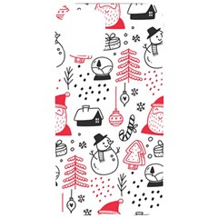 Christmas Themed Seamless Pattern Iphone 11 Pro Black Uv Print Case