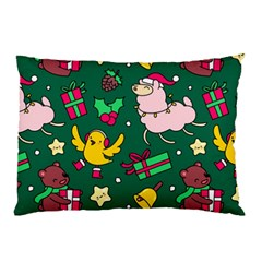 Funny Decoration Christmas Pattern Background Pillow Case