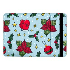Colorful Funny Christmas Pattern Samsung Galaxy Tab Pro 10 1  Flip Case by Vaneshart