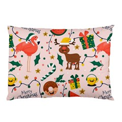 Colorful Funny Christmas Pattern Pillow Case