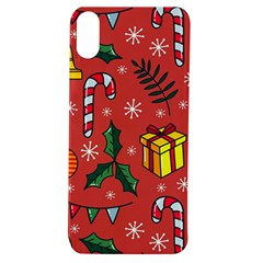 Colorful Funny Christmas Pattern Apple Iphone Xs Tpu Uv Case