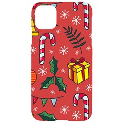 Colorful Funny Christmas Pattern Iphone 11 Black Uv Print Case