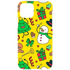 Funny Decoration Christmas Pattern Iphone 11 Pro Black Uv Print Case