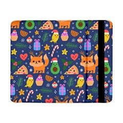 Colorful Funny Christmas Pattern Samsung Galaxy Tab Pro 8 4  Flip Case by Vaneshart