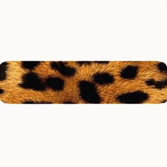 Leopard Skin Pattern Background Large Bar Mats by Vaneshart