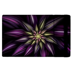 Fractal Flower Floral Abstract Apple Ipad Mini 4 Flip Case