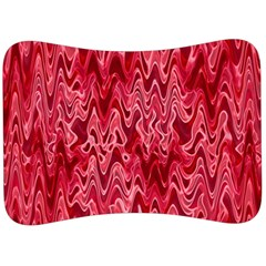 Background Abstract Surface Red Velour Seat Head Rest Cushion