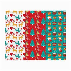 Funny Christmas Pattern Small Glasses Cloth by Vaneshart