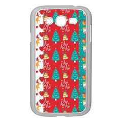 Funny Christmas Pattern Samsung Galaxy Grand Duos I9082 Case (white)
