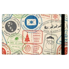 Christmas Postal Pattern Apple Ipad 3/4 Flip Case