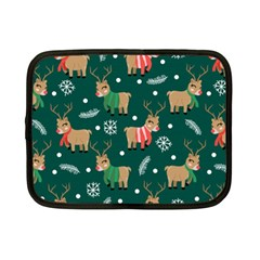 Cute Christmas Pattern Doodl Netbook Case (small)