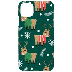 Cute Christmas Pattern Doodl Iphone 11 Pro Max Black Uv Print Case