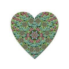 So Much Hearts And Love Heart Magnet by pepitasart