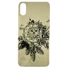 Owl On A Dreamcatcher Apple Iphone Xs Tpu Uv Case