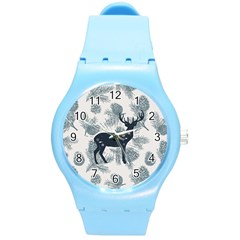 Deer Plastic Sport Watch (medium) by xmasyancow