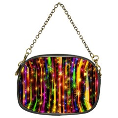 Illustrations Star Bands Wallpaper Chain Purse (one Side) by HermanTelo