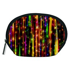 Illustrations Star Bands Wallpaper Accessory Pouch (medium)