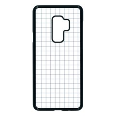 Aesthetic Black And White Grid Paper Imitation Samsung Galaxy S9 Plus Seamless Case(black) by genx