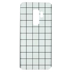 Aesthetic Black And White Grid Paper Imitation Samsung Galaxy S9 Plus Tpu Uv Case by genx
