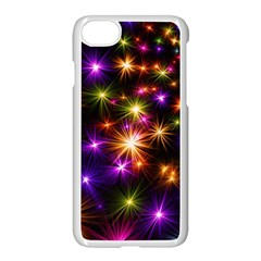Star Colorful Christmas Abstract Iphone 7 Seamless Case (white)