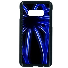 Light Effect Blue Bright Design Samsung Galaxy S10e Seamless Case (black) by HermanTelo